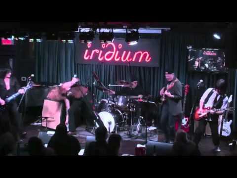 Steve Stevens Band w Sebastian Bach ACDC Beating Around The Bush at Iridium NYC