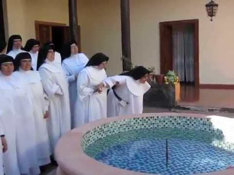 Despedida de las hnas del Monasterio de Pátzcuaro