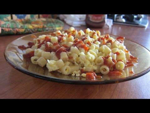 рожки с яйцом рецепт с фото