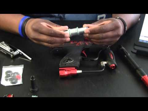 Dye NT Paintball Gun and Bolt Maintenance