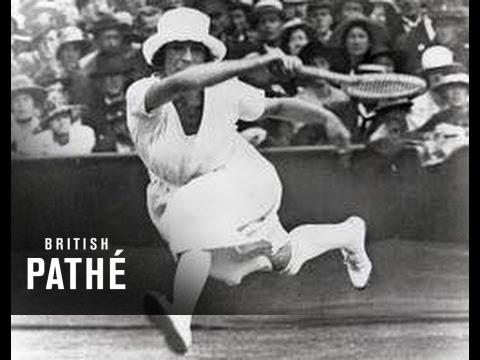 Suzanne Lenglen Breaks Wimbledon Record (1925)