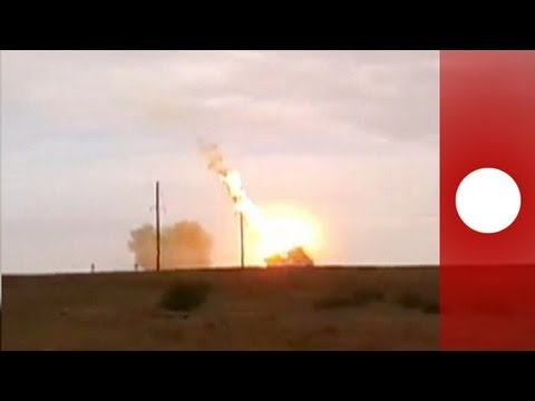 Russian Proton-M rocket crashes, explodes after launch failure