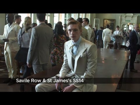 Savile Row SS14 – London Collections: MEN