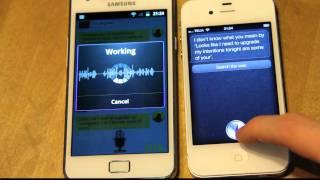 Siri Meets Iris! Samsung Galaxy S2 vs. iPhone 4S Voice Technology! Apple vs. Android!