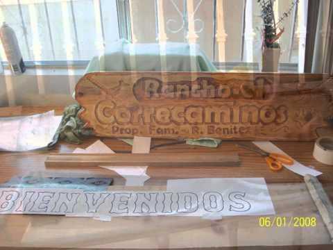 Letreros de madera youtube - Letreros en madera ...