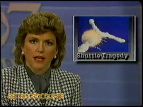 KIRO 7 News, Jan 28, 1986 (Challenger Space Shuttle Disaster)