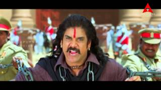 Rajanna - Rajanna Movie || Nagarjuna & Friends Fight With British Soliders Action Scene