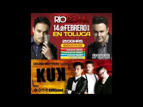Río Roma- Promo en radio.Toluca 14/Feb (04.02.15)