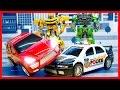 Мультик Трансформеры Автоботы спасатели Возвращение Бамблби Полицейская машина мультик для детей mp3
