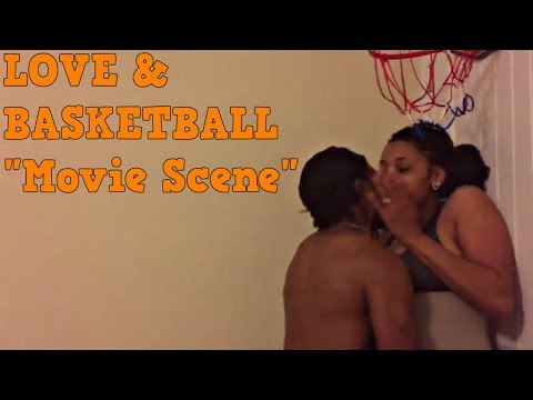 Love & and basketball bedroom scene, I'll play for your heart. Parody spoof remake | TNTReenactshow