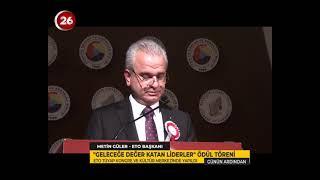 ETO Geleceğe Değer Katan Liderler Ödül Töreni