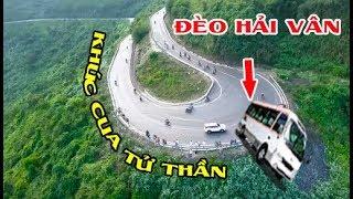 """""""Ớn Lạnh"""" khi lần đầu PHƯỢT Đèo Hải Vân nguy hiểm bậc nhất Việt Nam - Hai Van Pass"""