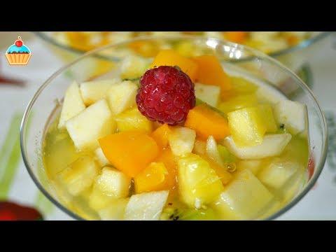 Как приготовить фруктовый салат - видео