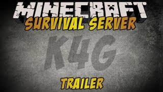 Minecraft: Official K4G Survival Server 1.4.5