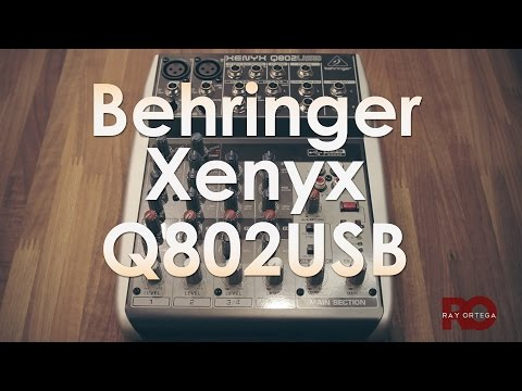 Behringer Xenyx Q802USB Mixer Review