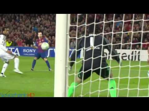 Petr Cech vs Barcelona[HD]