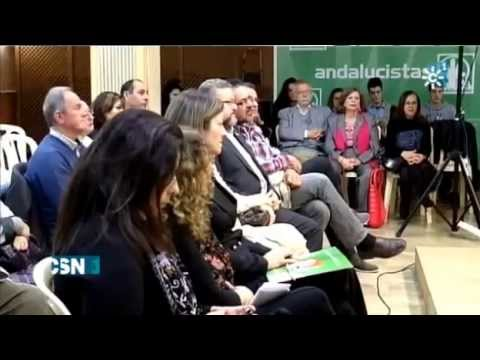 Presentación Candidatura Europeas Jaén 30/03/2014. Informativos Canal Sur