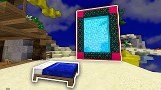 The NEW PORTAL in BED WARS...? (Minecraft)