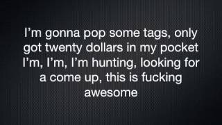"""Thrift Shop"" Macklemore & Ryan Lewis Feat. Wanz Lyrics"