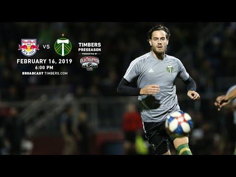 New York Red Bulls vs. Portland Timbers   Preseason   Feb. 16, 2019