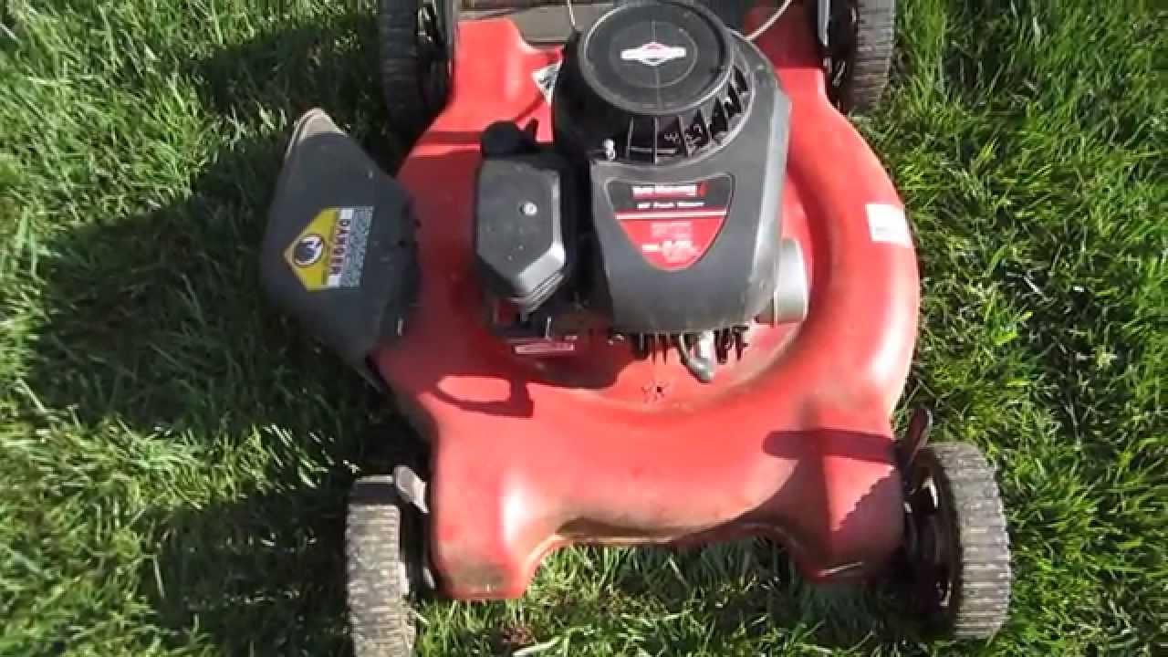 Trash Picked Bent Crankshaft Lawn Mower  U0026 It Starts Up