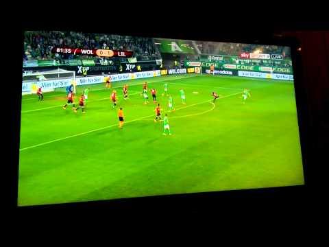 Kevin De Bruyne Traumtor vs Lille OSC 1:1 02.10.14 HD