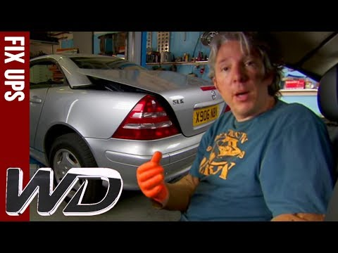 Repairing the Mercedes Roof - Wheeler Dealers