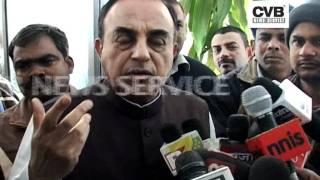 DIGVIJAY SINGH SUFFERING FROM BRAIN CANCER_ SUBRAMANIAN SWAMY