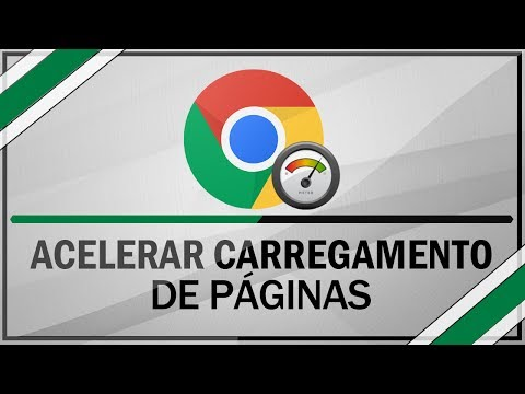 Como acelerar o carregamento de páginas do google chrome PT-BR [Exclusivo] 2014