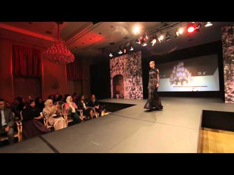 Jasmine Alphabet By Manal Ajaj   Mode Show In Berlin  video