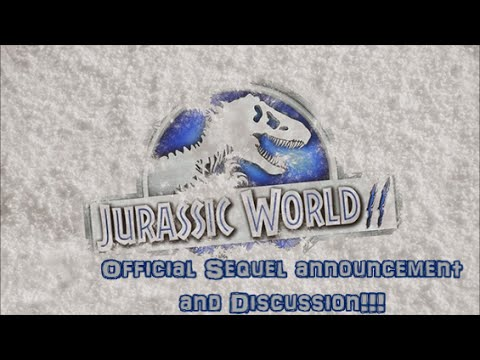 Jurassic World Sequel: Officially Announced: Where can it go? MY REACTION!!!
