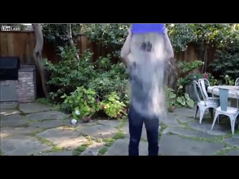 ALS Ice Bucket Challenge by CEO of Facebook, Apple, Microsoft, Google and Amazon