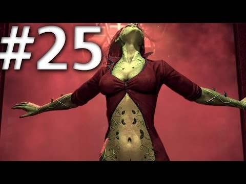 Batman Arkham Asylum - Walkthrough - Part 25 - Poison Ivy Boss Fight - Road To Batman Arkham Knight