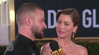 Download Lagu Justin Timberlake Teases That Wife Jessica Biel Is Featured on His New Album Exclusive - ET Online Gratis STAFABAND