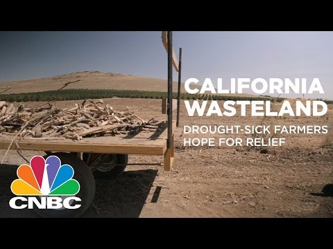 California Wasteland: Drought-Sick Farmers Hope For Relief | CNBC
