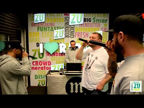 B.U.G. Mafia - Strazile (Live la Radio ZU)