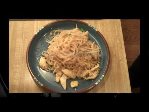 0 THAI FOOD How to make Pad Thai with Chicken Recipe