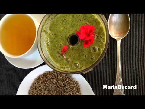 Konopie, Zielona Herbata, Szpinak - Wegańsko I Na Surowo Z Maria Bucardi - śniadanie 1 Minuta