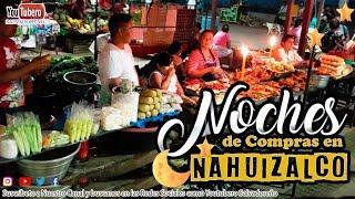 Conociendo el Mercado de Nahuizalco de Noche   El Salvador
