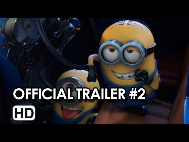 Despicable Me 2 Official Trailer #2 (2013)