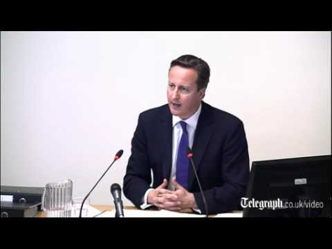 David Cameron at the Leveson Inquiry: 'Andy Coulson's appointment has come back to haunt me'