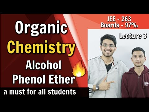 Alcohol Phenol and Ether | Class 12 Organic Chemistry for Board Exam