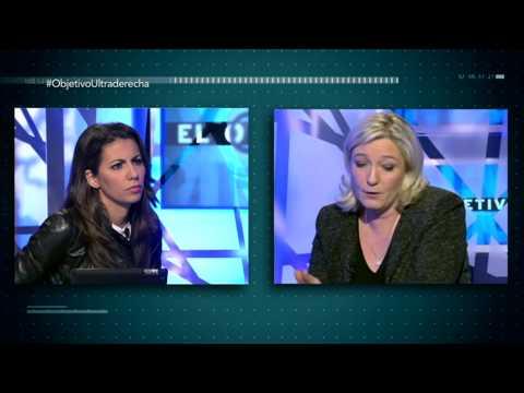 El Objetivo entrevista completa a Marine Le Pen