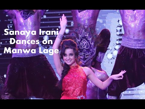 Sanaya Irani Dance On #mirchitop20 Countdown Show video