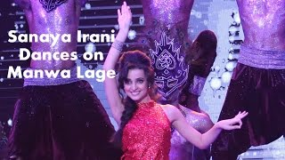 Sanaya Irani dance on #MirchiTop20 Countdown show