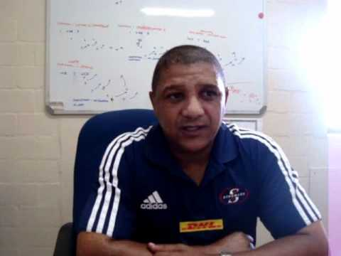 Allister Coetzee on the Stormers team for the Lions