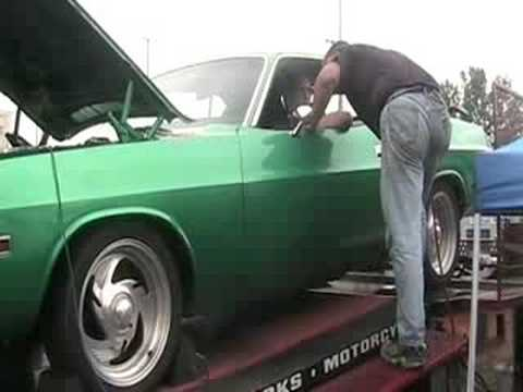 70 Challenger dyno gone wrong Video