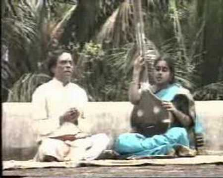 Lalgudi G. Jayaraman sings with daughter