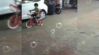 Sapna Sappu's son Tiger enjoying, playing 😎😚