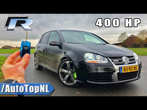 400HP VW Golf 5 R20 REVIEW POV on ROAD & AUTOBAHN (NO SPEED LIMIT) by AutoTopNL